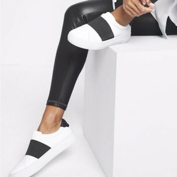 X Athleta Adorn Leather Sneakers | Poshmark